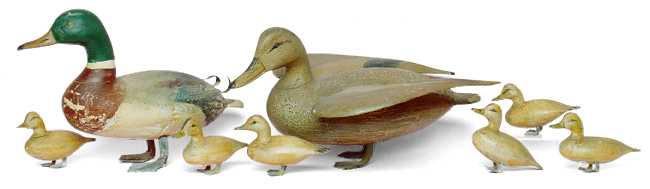 IRA Hudson Duck Decoys